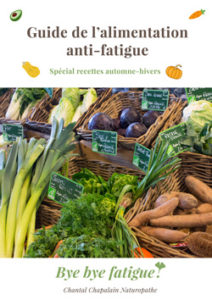 couverture guide de l'alimentation anti fatigue