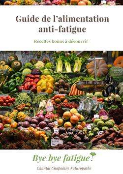 Guide de l'alimentation anti-fatigue